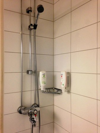 Cumulus Pori Hotel: シャワーは快適です。水も軟水で浴びやすいです。