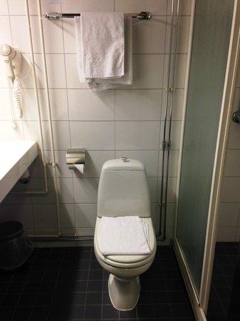 Cumulus Pori Hotel: トイレとシャワーは普通です