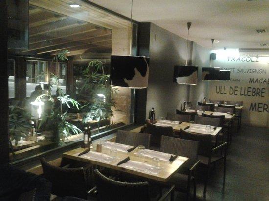 La Taverna del Call : Comedor interior