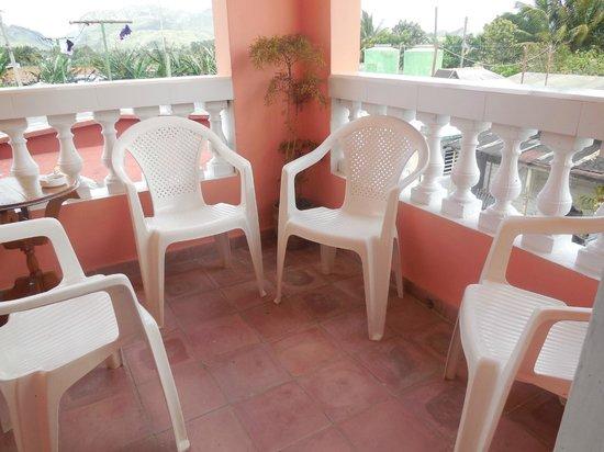 Villa Los Pandaderos: Balcony