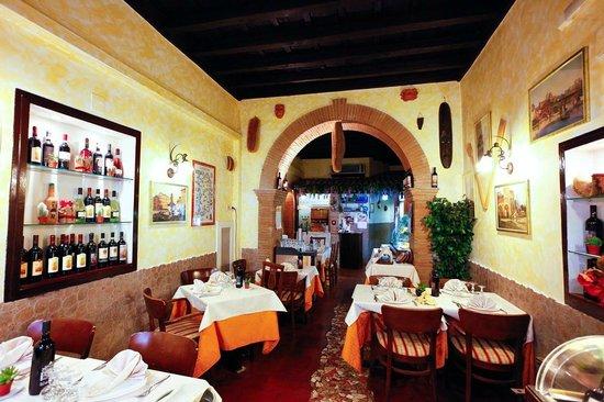 Hostaria Perdingianu e Croccoriga: un particolare del nostro ristorante