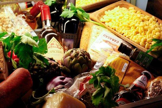 Hostaria Perdingianu e Croccoriga: un po di prodotti sardi
