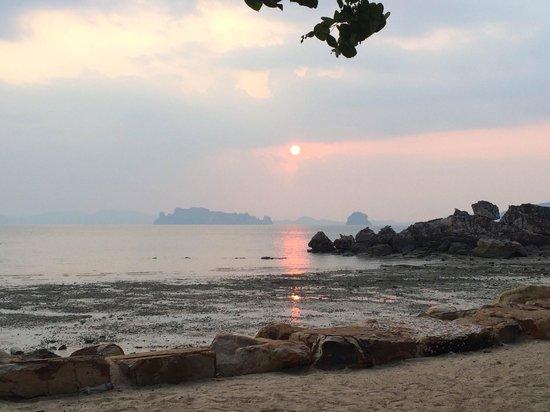 Phulay Bay, A Ritz-Carlton Reserve: Вот такое дно у моря