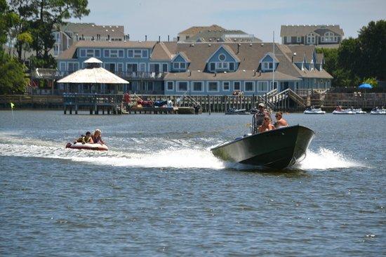 North Beach Watersports: Tubing