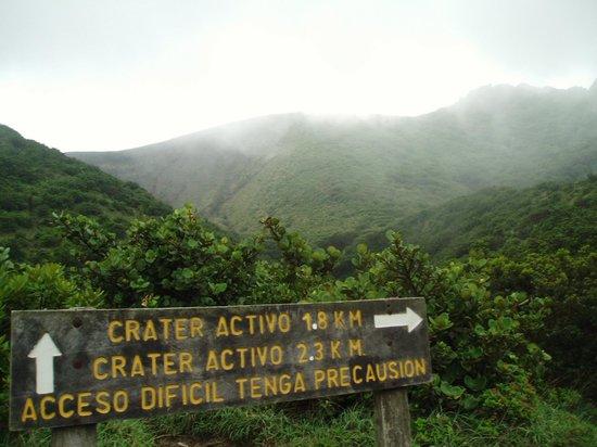 Rincon de la Vieja Lodge: ruta hacia el Volcán de La Vieja