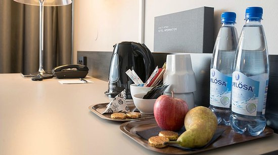 Quality Hotel Sundsvall: Superior room coffee/the