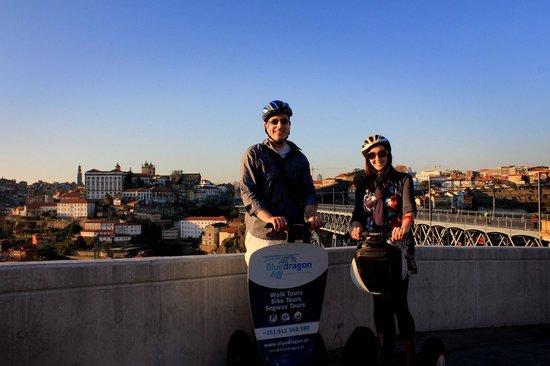 Bluedragon Porto City Tours: overlooking porto