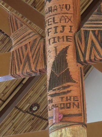 Outrigger Fiji Beach Resort : fiji motto...