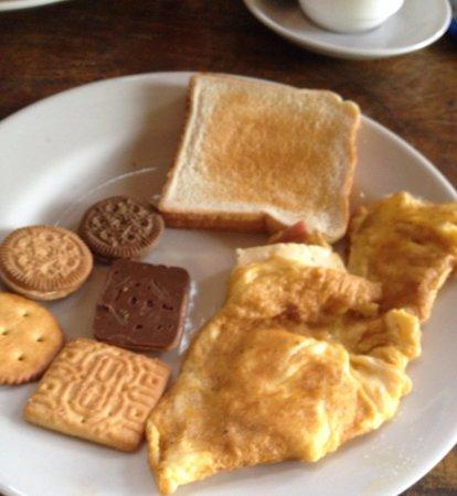 Hotel Lavas del Arenal: Breakfast