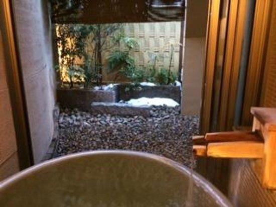 Hotel Kajikaso : 部屋の露天風呂