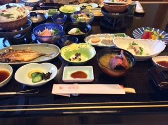 Hotel Kajikaso : 朝食