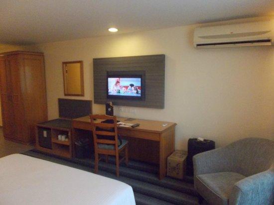 Concorde Inn Kuala Lumpur International Airport : Plasma TV