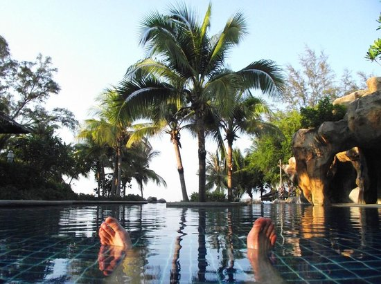 Royal Muang Samui Villas: great infinity pool