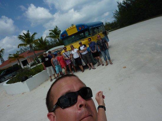 Bimini Sands Resort and Marina: The shuttle bus!!!!
