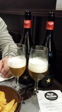 Lonja De Tapas - Jaume I: Cerveza Estrella Inédit