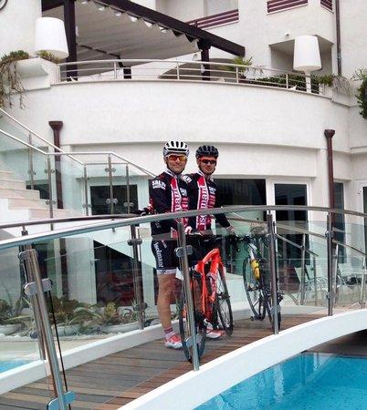 Hotel Belvedere: al rientro da una pedalata