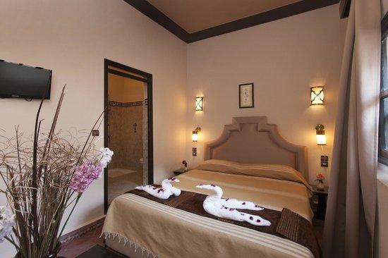 Riad Al Madina : chambre