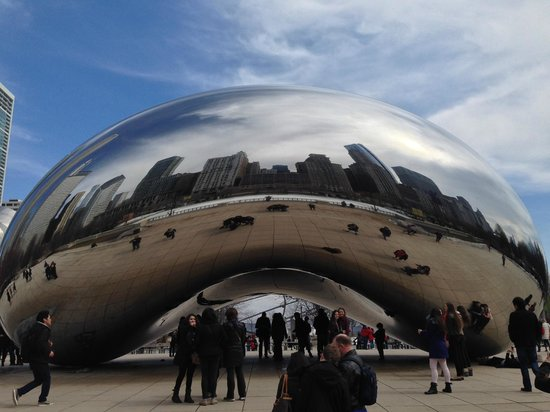 Millennium Park: The Bean!