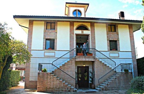 Agriverde: facciata dell'albergo