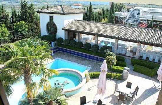 Agriverde: piscina - vista dalla camera