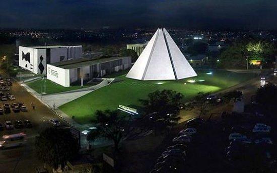 Vista do Templo da Boa Vontade