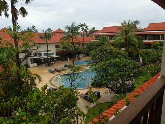 Bali Rani Hotel: A view from the second floor