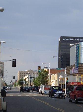 Hilton Garden Inn Amarillo: mainstreet Amarillo