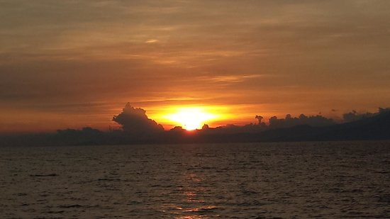 Warung Paradiso : beautiful sunset