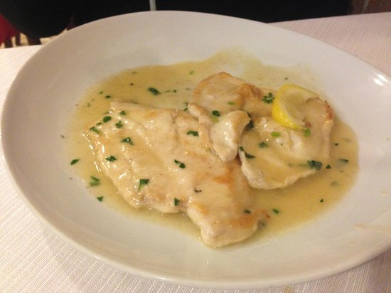 Ristorante De la Ville : Chicken with Lemon - Delicious!