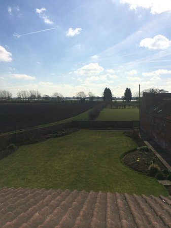 Deighton Lodge: View from the Grand Old Duke room (beautiful)