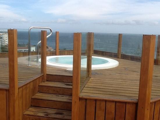 Hotel Escorial & Spa: jaccuzi sur le toit solarium