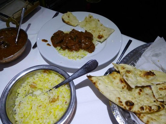 Shri Bheemas Indian Restaurant Bridge of Don: My Friends Lamb Dish