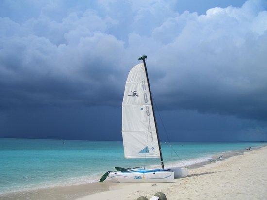 Grace Bay: Temporale in arrivo