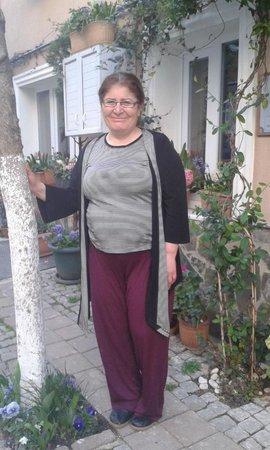 Hotel Buhara Family Inn : la proprietaria commossa è venuta a salutarci alla partenza