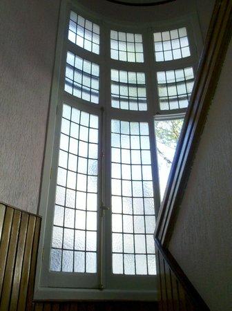 Hotel Lyon: escalera