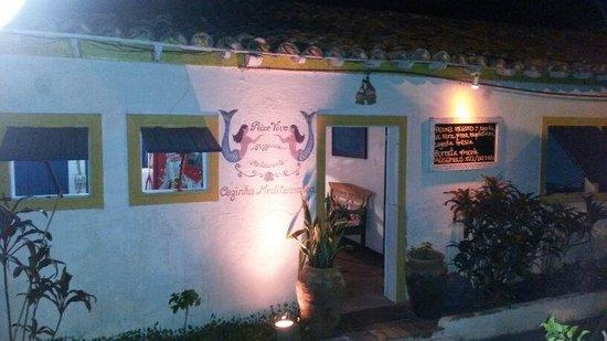 Restaurante Peixe Vivo : ingreso
