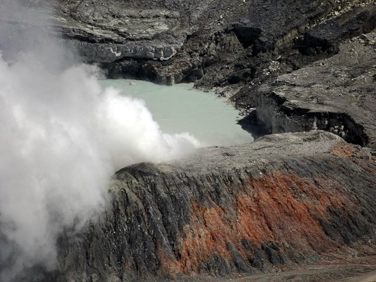 Poas Volcano: Découverte du petit lac