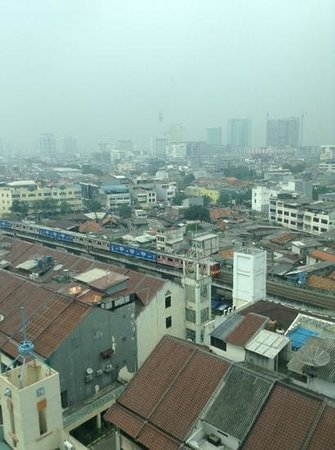 Ibis Jakarta Mangga Dua Hotel: view from my room