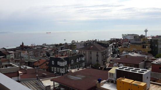 The Byzantium Hotel & Suites : terrace view
