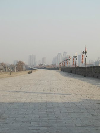 Xi'an City Wall (Chengqiang): Стена