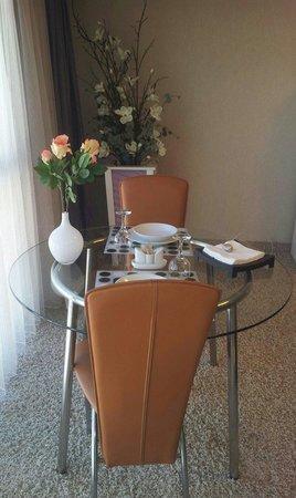 Tempo Residence Comfort: Romántico cenar por dos