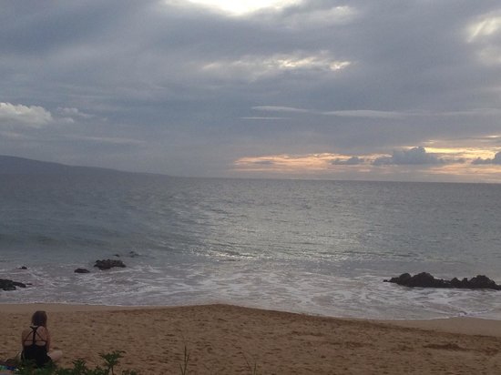 Sarento's on the Beach - Maui: View from table