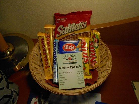 Park Hotel Ahrensburg: snacks