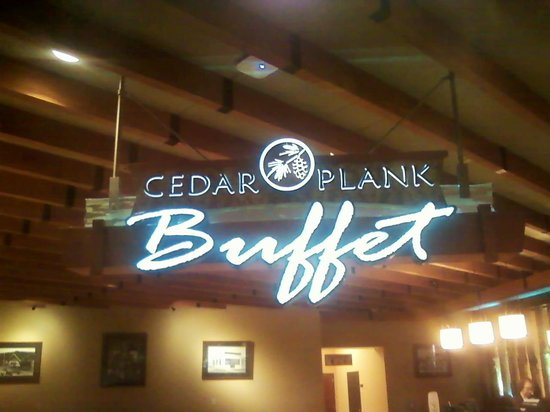 Cedar Plank Buffet: Best Buffet Ever