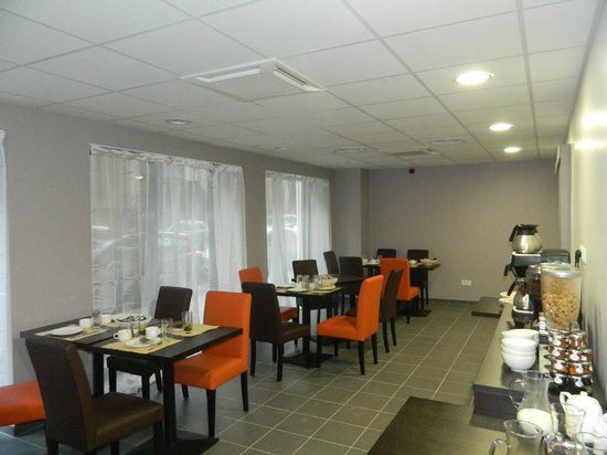 Appart'hôtel Odalys Green Marsh : Salle de déjeuner