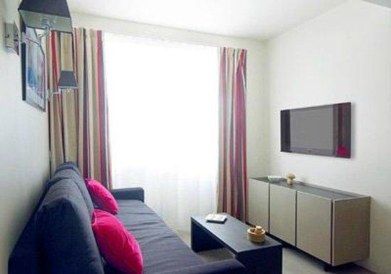 Appart'hôtel Odalys Green Marsh : Salon