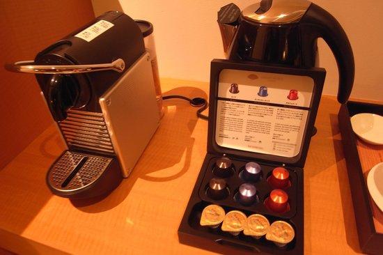 Mandarin Oriental, Tokyo: Coffee Machine