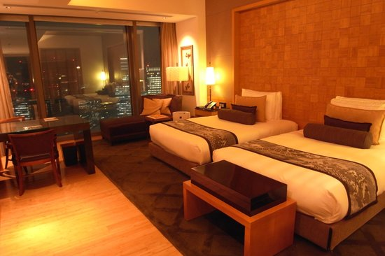 Mandarin Oriental, Tokyo: view of the room(Premium Grand Twin)