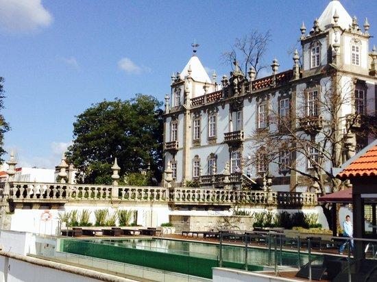 Pestana Palacio do Freixo: Extérieur de l hotel