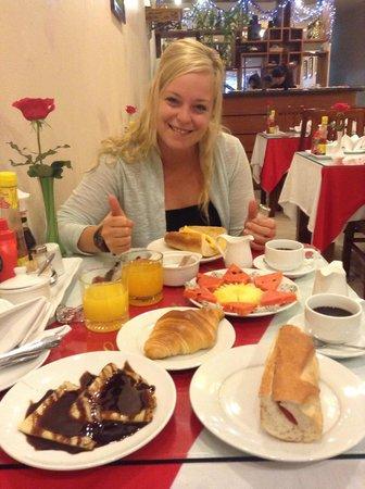 Hanoi Holiday Diamond Hotel: breakfast